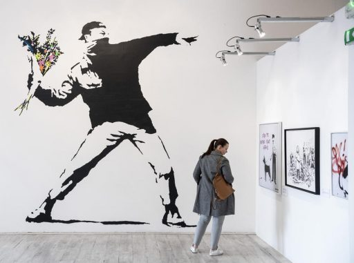 Banksy verliest patent op eigen werk
