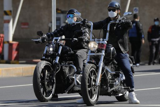 Harley-Davidson krijgt motor maar niet op gang