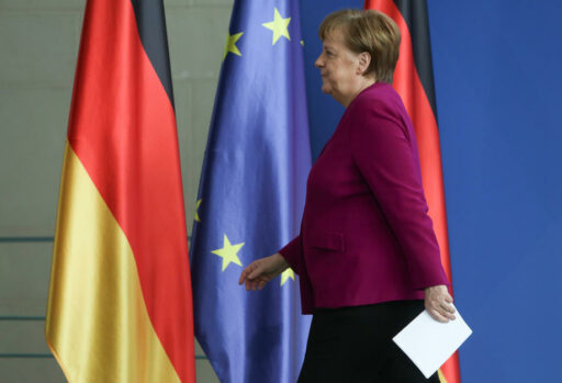 Un espion présumé dans le service de presse de Merkel?