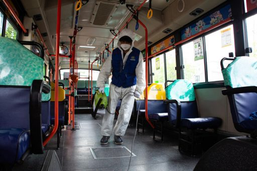 La Corée du Sud investit dans des arrêts de bus anti-coronavirus