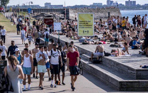 'De Covid-19 crisis in Zweden is voorbij: Ze hebben groepsimmuniteit'