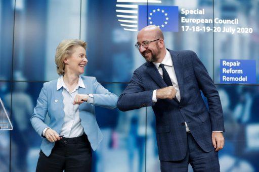 Europese obligaties om tijdelijke werkloosheid te financieren brengen recordbedrag van 150 miljard euro op