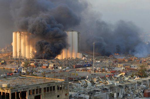 La destruction du port de Beyrouth, nouvelle catastrophe économique pour le Liban: 'Des dégâts jusqu'à 5 milliards de dollars'