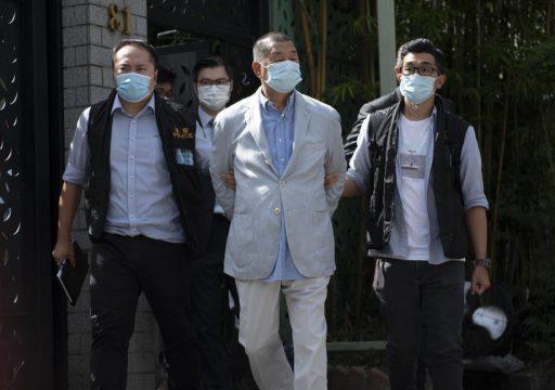Honk Kong: accusé de 'connivence avec les forces étrangères', le patron de presse Jimmy Lai a été arrêté