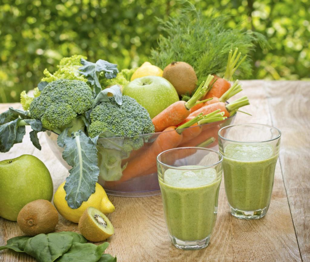 Waarom 'groene smoothies' goed voor je zijn