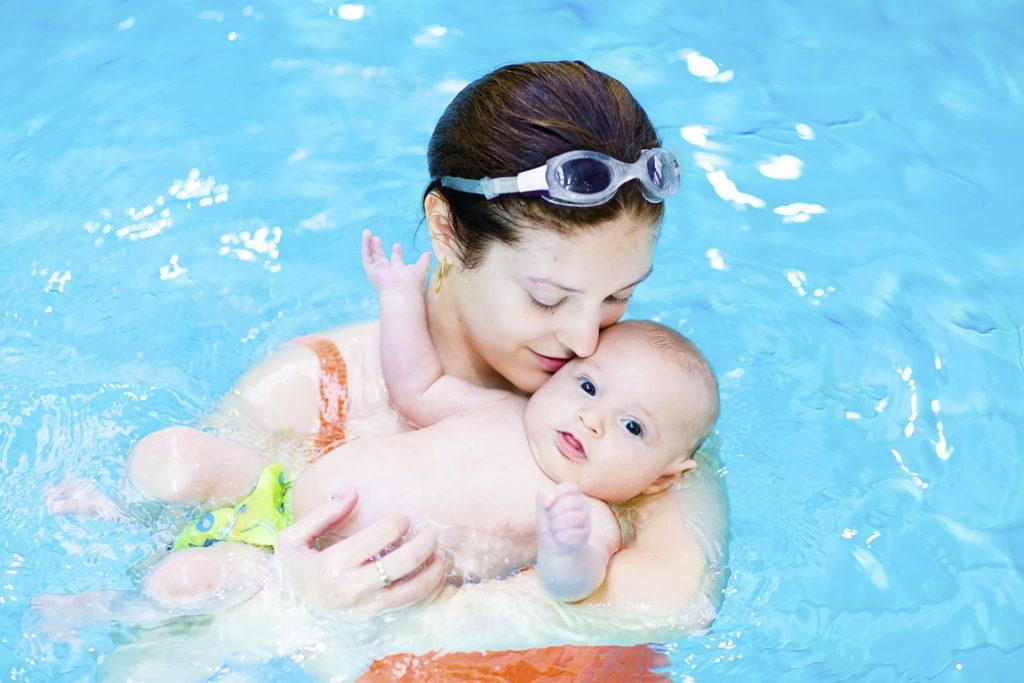 Waarom zwemmen voor baby's zo populair is?