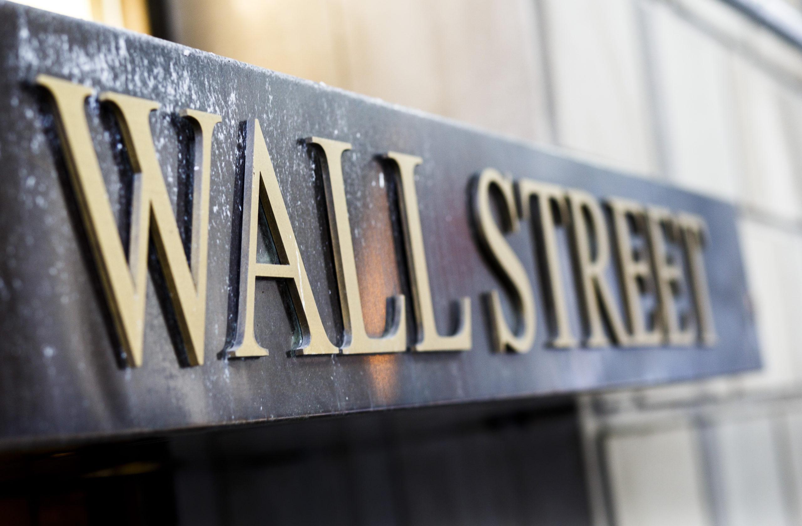 Wall Street voit la vie en rose  depuis trois jours