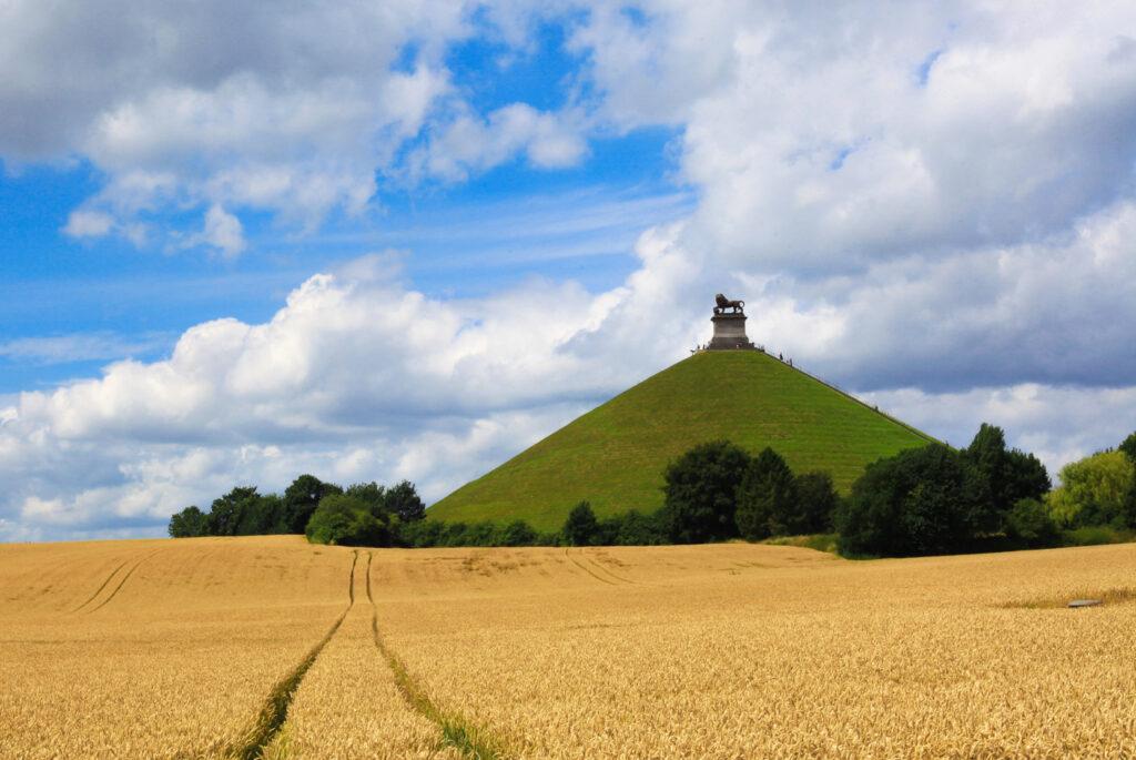 Wegdromen in Waals-Brabant - Waterloo