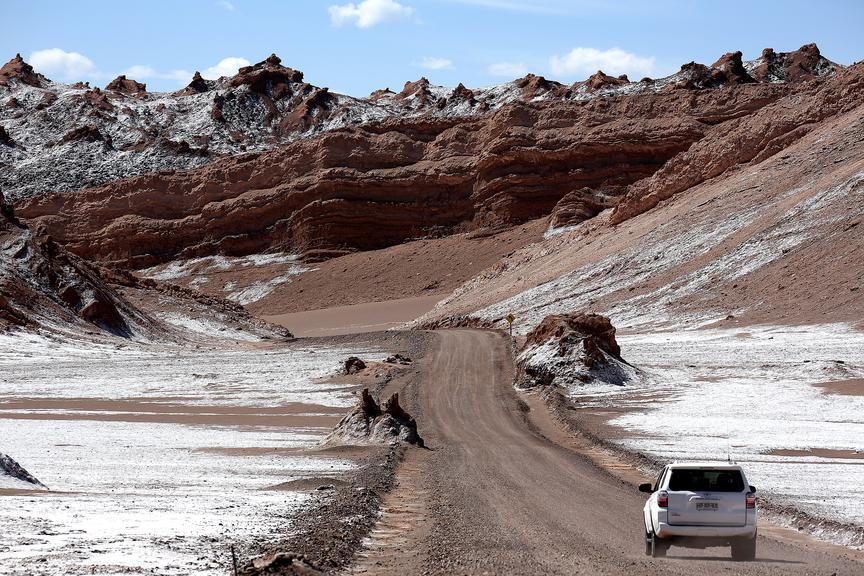 Langs vuur en ijs in Chili