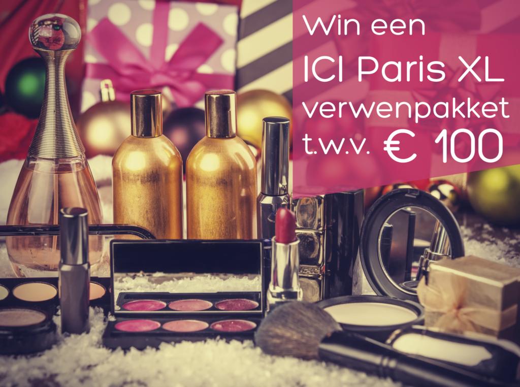 Win 1 van de 20 ICI PARIS XL Verwenpakketten t.w.v. 100 euro