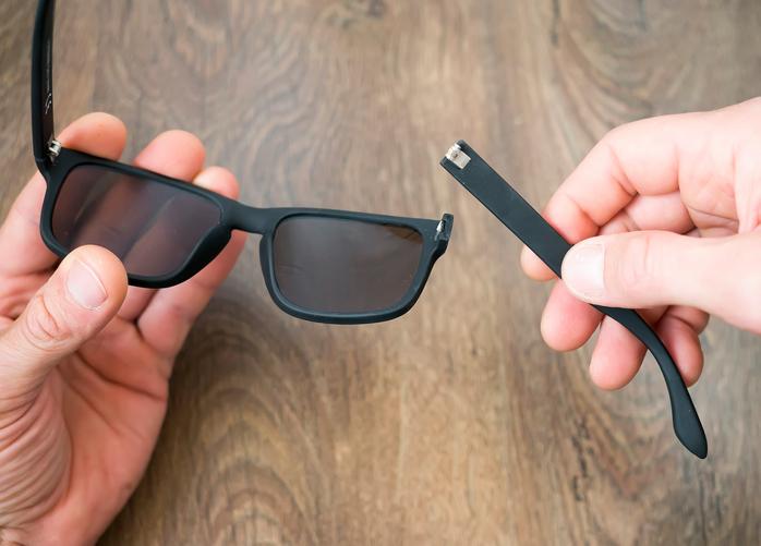 Zo herstel je een beschadigde zonnebril
