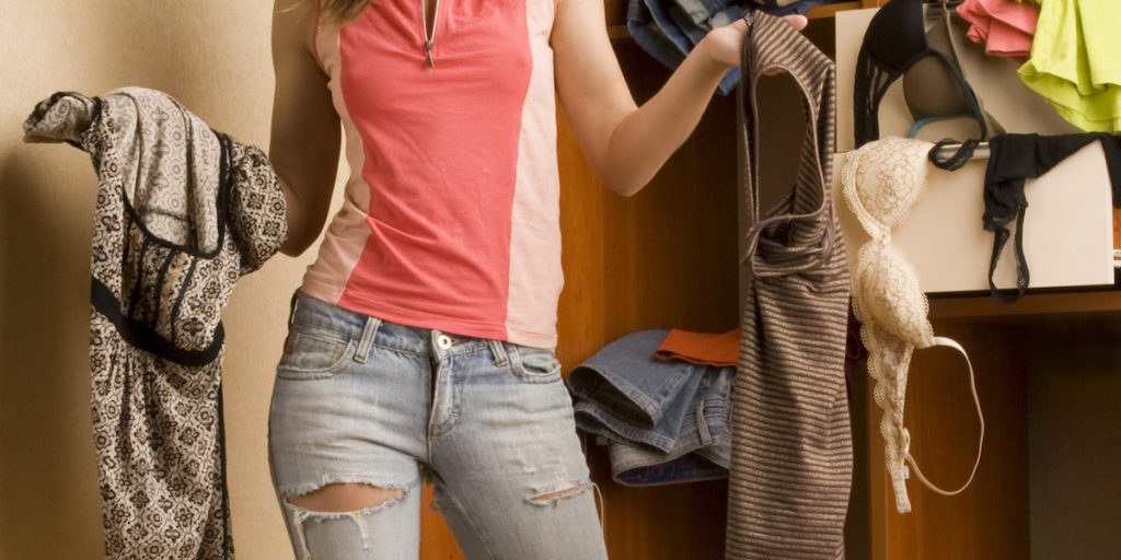 Zoveel tijd spenderen we aan het uitkiezen van onze kleren