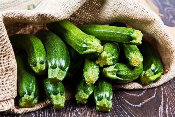 Recept voor een vegetarisch gevulde courgette