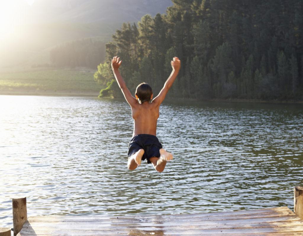 Zwemmen in open water brengt enkele risico's met zich mee